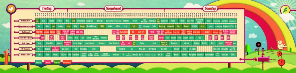 Timetable Simsalaboom Festival 2017
