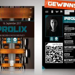 Gewinne 2 Tickets für DANGER! ft. Prolix