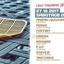 23.10.17<br>Farewell: Last Danger! at Sabotage