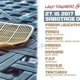 23.10.17<br>Farewell: Last Danger! at Sabotage