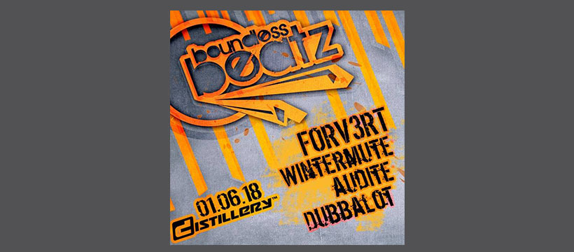 FORV3RT – Live at Boundless Beatz – Distillery Leipzig