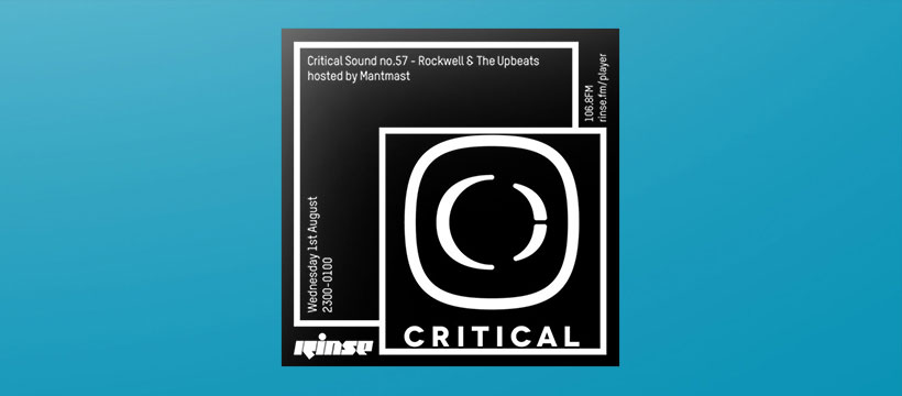 Rockwell & The Upbeats bei Rinse.FM