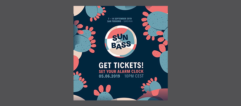 Tickets: Sun and Bass 2019