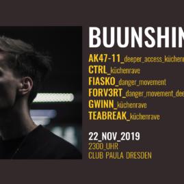 22.11.19: <br> Buunshin