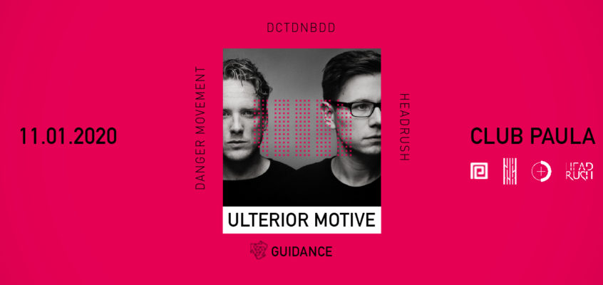 Ulterior Motive mit DCT + Danger Movement
